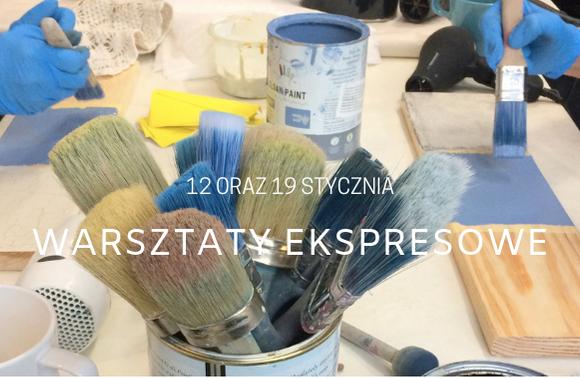 Fotorelacja z warsztatów ekspresowych (12 i 19 stycznia 2019)