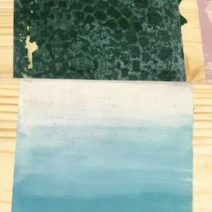 """Fotorelacja z warsztatów """"8 technik stylizacji mebli farbami kredowymi Annie Sloan"""" – 28 października 2017"""