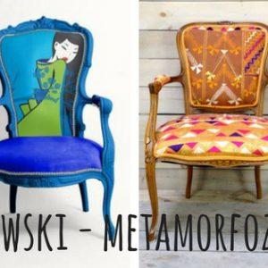 Fotel ludwikowski – metamorfozy szokujące, śmieszne, zachwycające !