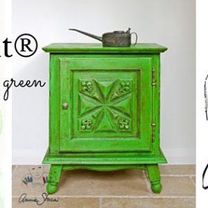 Antibes Green – o kolorach Annie Sloan!