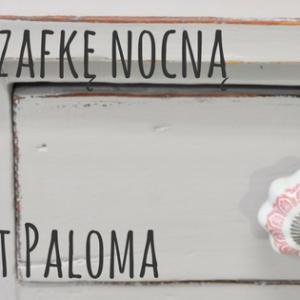 Malujemy szafkę nocną na kolor Paloma – krok po kroku DIY